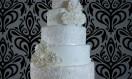 Annie – White Lace Asian Wedding Cake