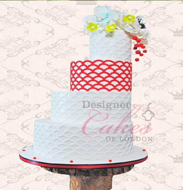 Amazing designer wedding cakes