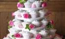 Rose Wedding Cupcake Tower