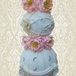 Bespoke sphere wedding cake