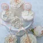 Personalised wedding cupcakes