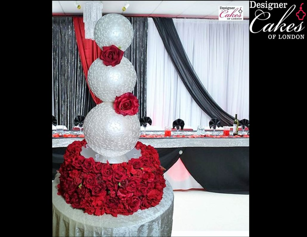 Sphere Unique Wedding Cakes Luxury Wedding Cake Bespoke - Sphere Wedding Cake