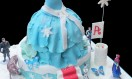 Frozen Movie Princess Cake