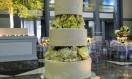 Georgie – Roses Separator Asian Wedding Cake