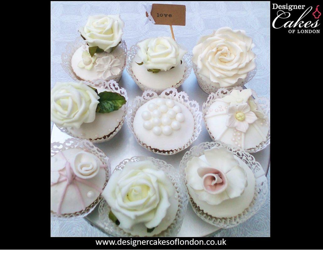 Vintage Wedding Cupcakes. Wedding Cakes London. Wedding Cupcakes ...