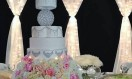 Lainy – wedding cake Chandelier Crystal Waterfall cake stand. Asian Wedding Cake. Luxury Wedding Cakes London