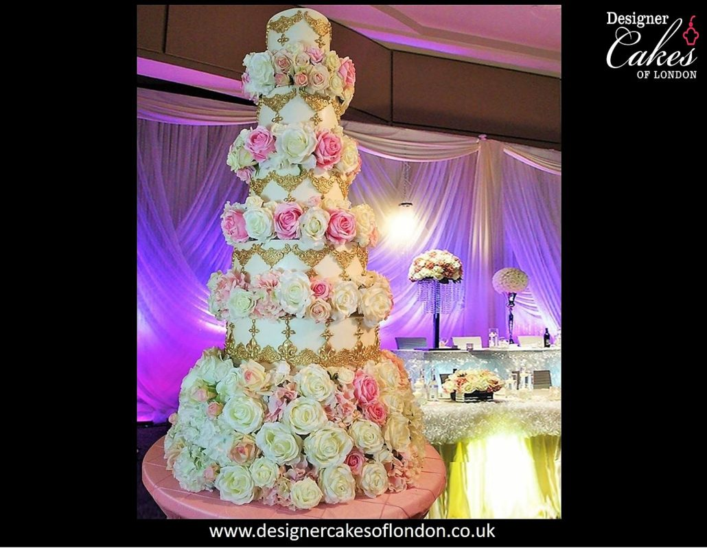 Hallo Asian Wedding CakeLondon Tall Wedding Cakes Luxury