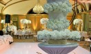 Hallo Wedding Cake-  Chandelier Crystal Waterfall  cake  stand. Asian Wedding Cake. Luxury Wedding Cakes London. Bespoke wedding cake Designer