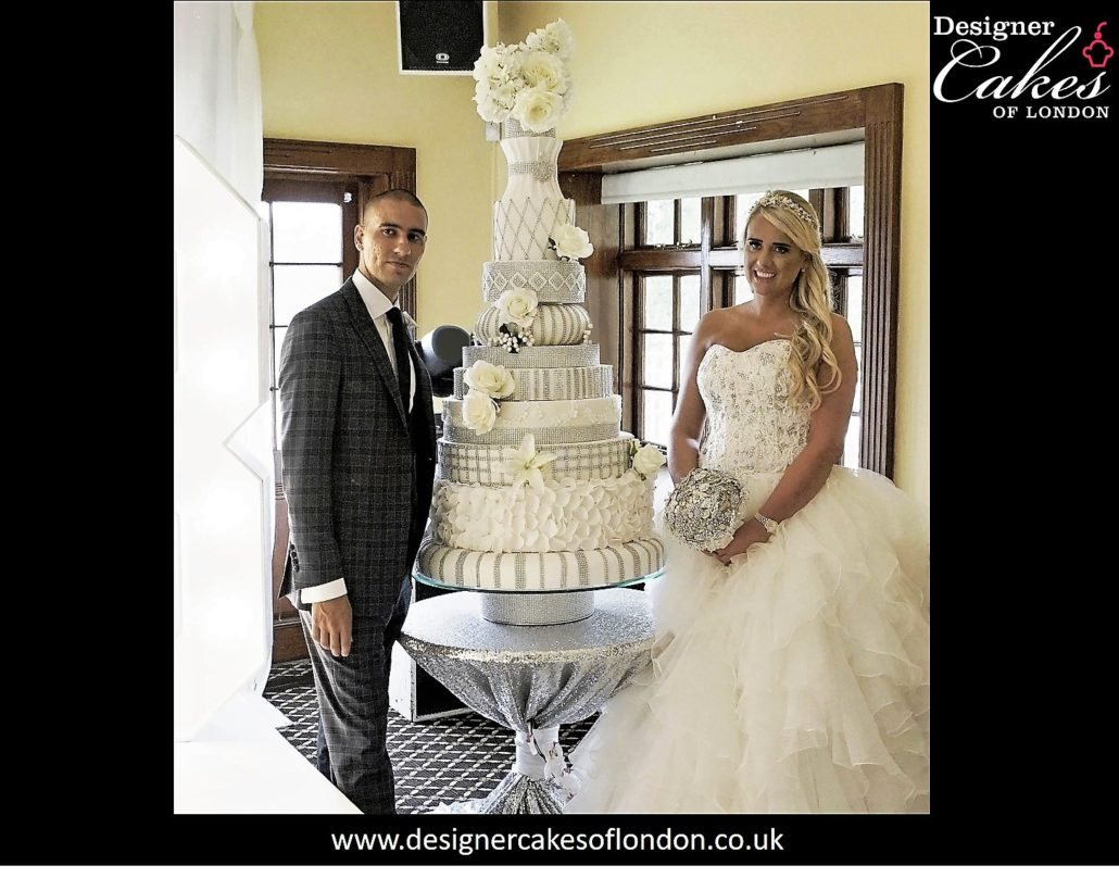 Crystal - Adorned with over 1000 real crystals - Wedding Cakes ...