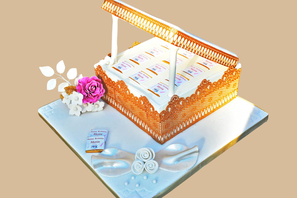 Luxury Personalised Birthday Cake London