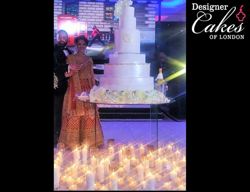 Eggless Asian Wedding Cakes London